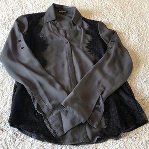 NWOT. Express collared shirt.